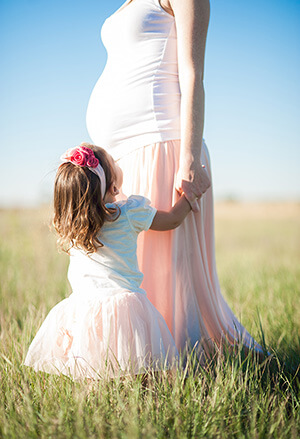 Laufgitter-Testing - Mama und Kind